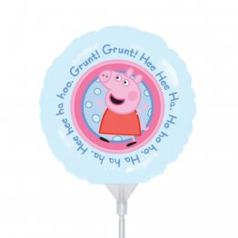 Balon mini folie Peppa Pig, 23cm