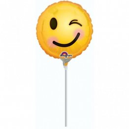Balon mini folie Smiley