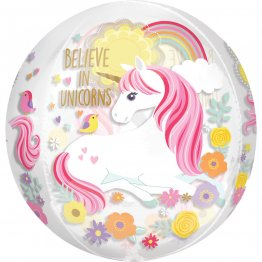 balon-orbz-believe-in-unicorns-transparent-40-cm