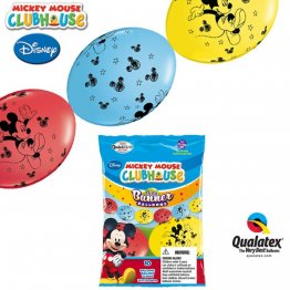 Banner party din baloane cony- Mickey Mouse - 3m, Qualatex 15101