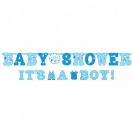 Bannere decorative , Baby shower - It's a boy, Amscan 121491, set 2 buc