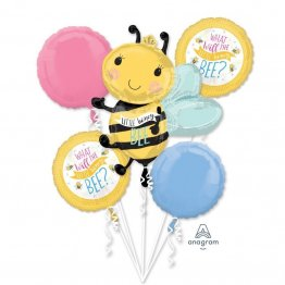 Buchet Baloane What Will It Bee Baby Shower 5 buc