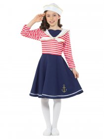 Costum marinaresc fete Sailor Girl