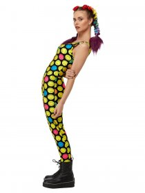 costum-body-salopeta-cu-imprimeu-colorat-smiley