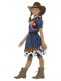 Costum carnaval cowgirl fete