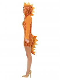 Costum carnaval dragon orange