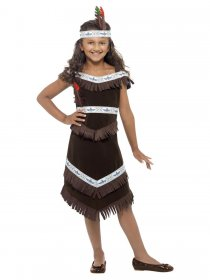 Costum carnaval indian Native American fete