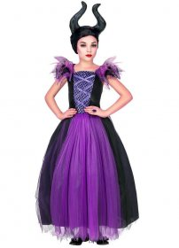 Costum carnaval fete Maleficent