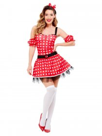 Costum-carnaval-Minnie-Mouse-Fever-fabricademagie