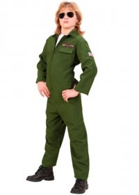 Costum pilot avion Jet Fighter copii