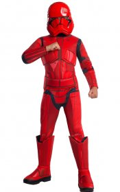 Costum Star Wars Red Stormtrooper Premium copii