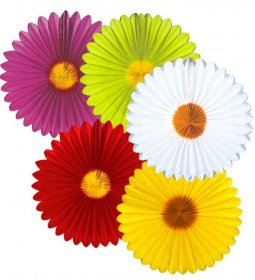 Decor floare de hartie margareta 50cm