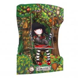 Felicitare 3D Swing Cards  -  Gorjuss Ruby