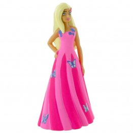 Figurina Comansi - Barbie-Barbie Fantasy Pink Dress
