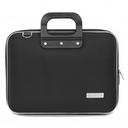 Geanta lux business laptop 13 in Nylon Bombata-Negru