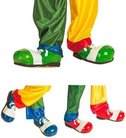 Pantofi clown latex