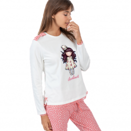 Pijama dama Gorjuss Love Heart