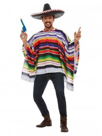 Costum poncho mexican