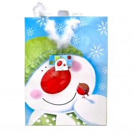 PUNGA - L Snowman with green hat