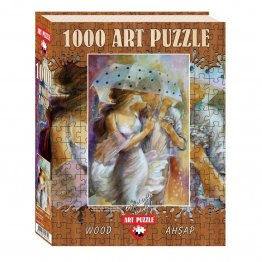 Puzzle 1000 piese - din lemn One Day In May-LENA SOTSKOVA