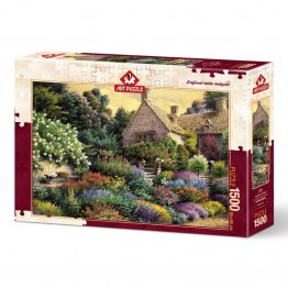 Puzzle 1500 piese - THE COLORS OF MY GARDEN