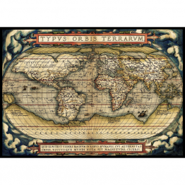 Puzzle 3000 piese - The First Modern Atlas, 1570