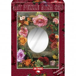 Puzzle 850 piese Rose beauty - ALBERTO ROSSINI