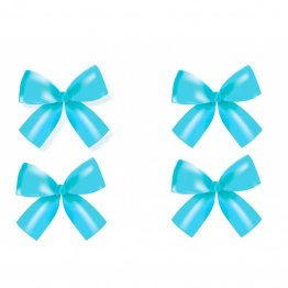 Set 4 fundite bleu decorative 10 x 9 cm