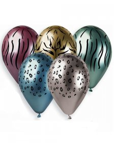 set-5-baloane-shiny-animal-print-33-cm