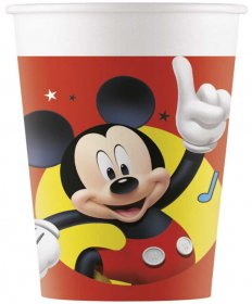 Set 8 pahare party din carton Mickey Pals at Play, 200 ml