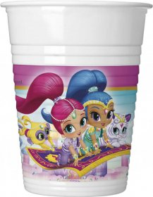Set 8 pahare party Shimmer and Shine
