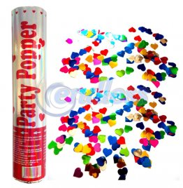 Tun confetti 20 cm color metalizate