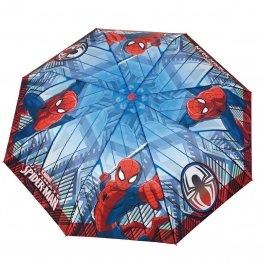 Umbrela manuala pliabila (2 modele) - Spiderman