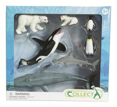 Set 7 figurine Viata Marina - Collecta