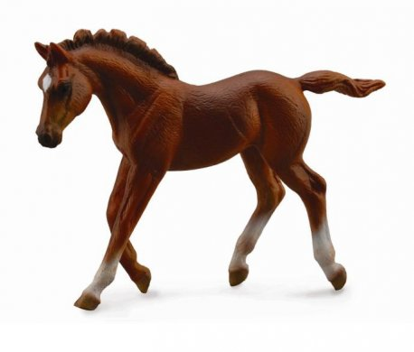 Figurina Manz Thoroughbred Chestnut M Collecta