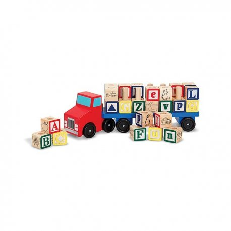Camionul Alfabet Melissa and Doug