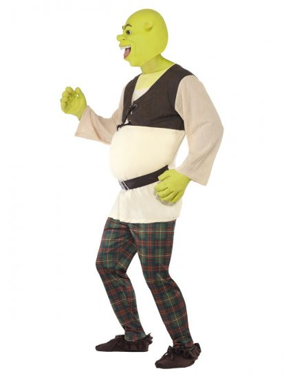 Costum Shrek adult
