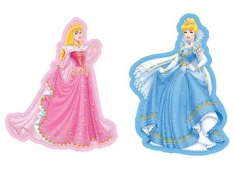 Set 2 mini decoratiuni Princess