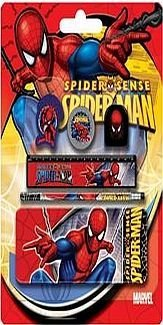 set-penar-metal-cu-instrumente-spiderman