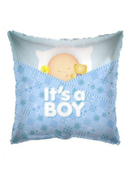 "Balon botez ""It's a boy"" pernuta"