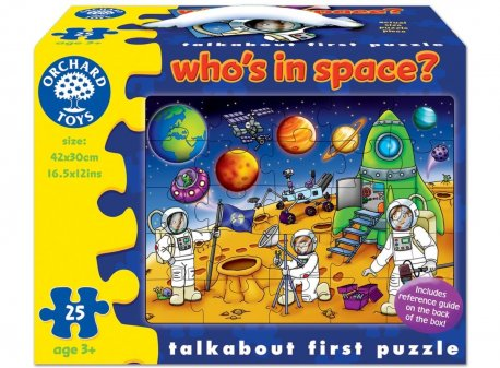 Puzzle spatiul cosmic 25 piese whos in space
