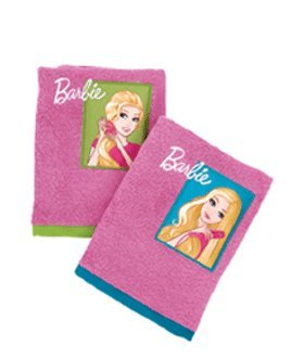 Set 2 Prosoape baie copii Barbie 021 Kentia