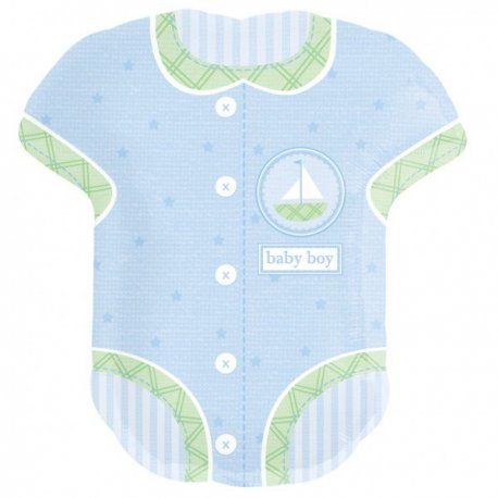 Balon botez Baby Boy Body - 61cm