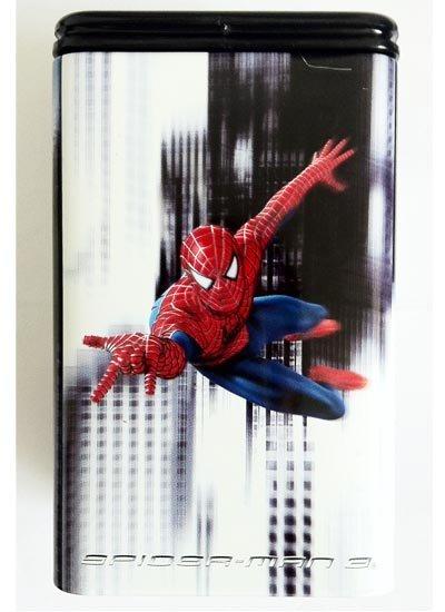 suport-rechizite-spiderman-black