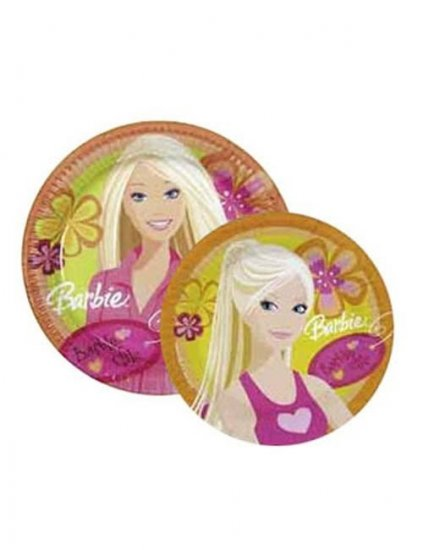 Farfurii Barbie Chic Party