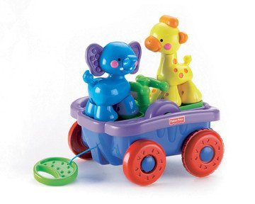 "Fisher Price - Animale "" Push&Pull """