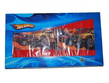 Set 2 prosoape baie copii Hot Wheels 01 Kentia