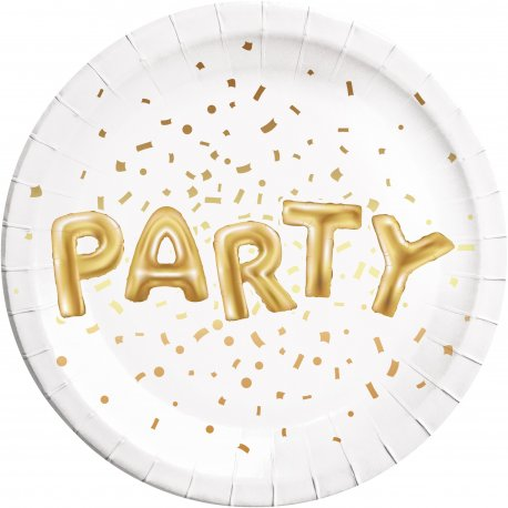 set-8-farfurii-23-cm-gold-party