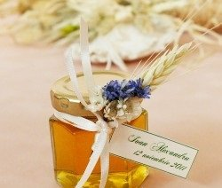 Marturii de botez - Honey Flower Jar