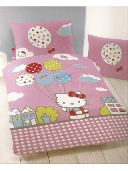 lenjerie-de-pat-copii-hello-kitty-darling-dubla